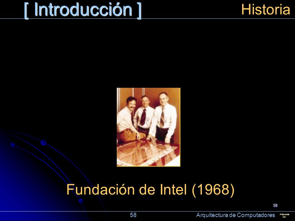 [ Introducción ] Historia Fundación de Intel (1968)